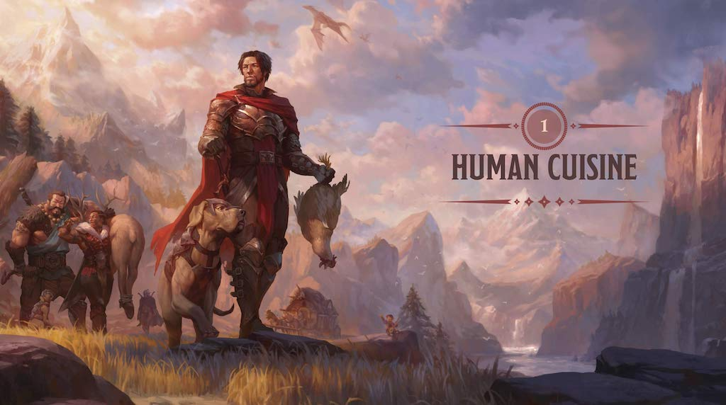 Heroes Feast D and D Cookbook Human Cuisine