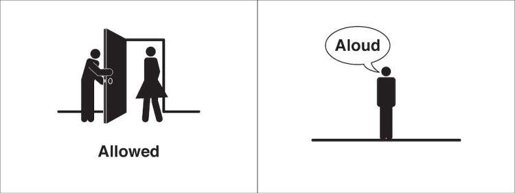 Homophones Visualized Allowed Aloud