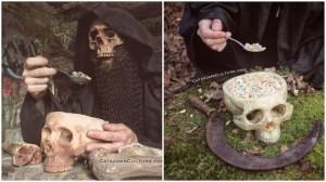 Human Skull Bowls