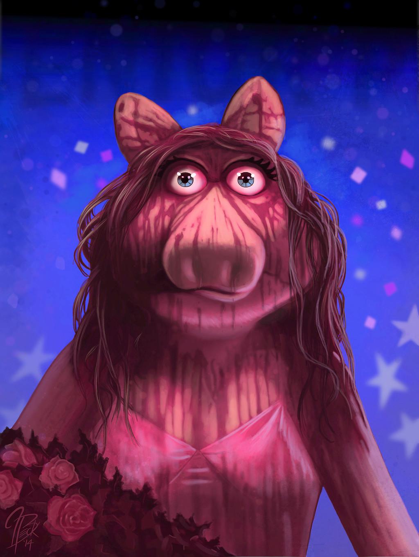 Jason Beck Miss Piggy Carrie