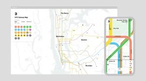 NYC Live Subway Map