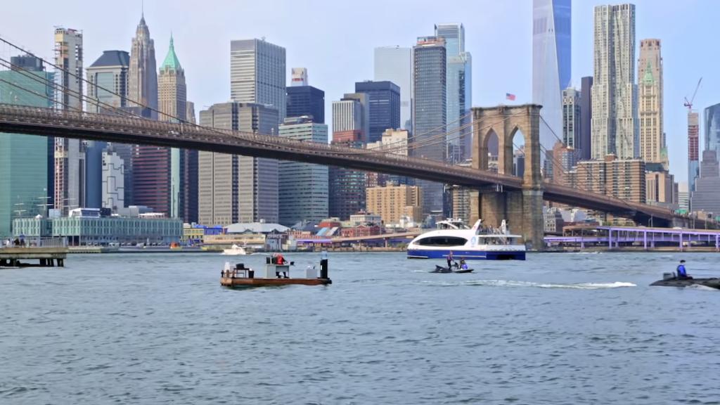 Socially Distanced Office Brooklyn Bridge