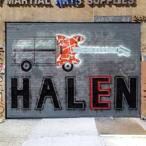 Van Halen Plannedalism Mural