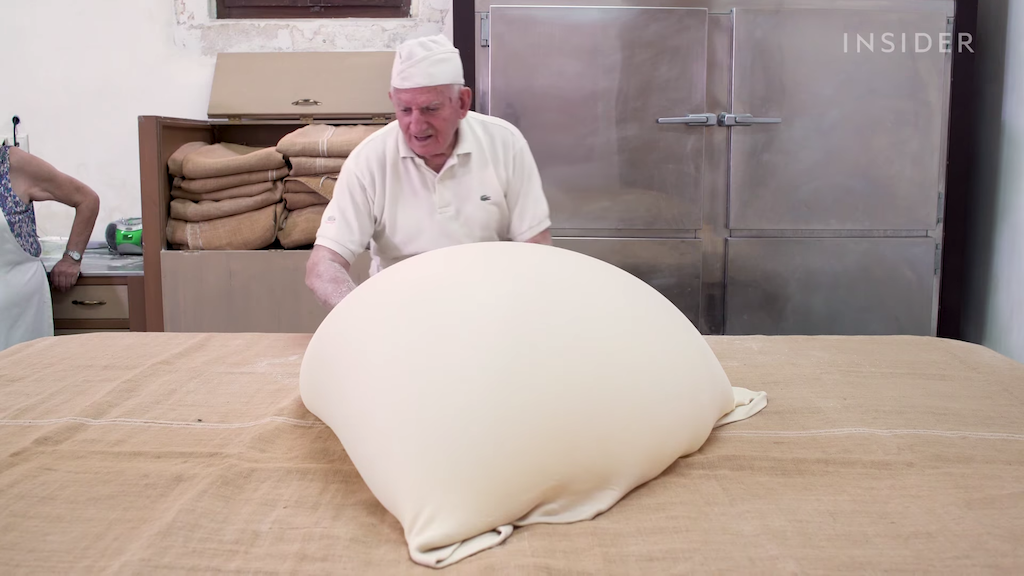 86 Year Old Baker and His Family Who Continue the Greek Tradition of Making Phyllo Dough by Hand - laughing squid