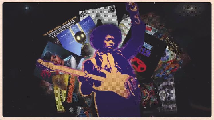 How Science Fiction Shaped Jimi Hendrix