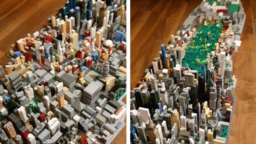 Manhattan in LEGO