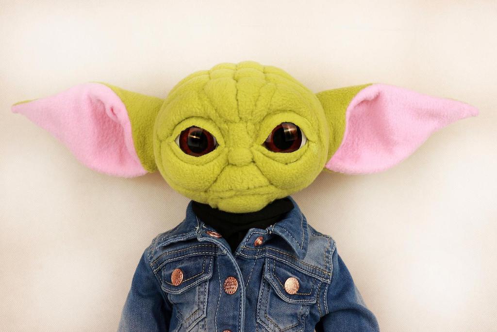 Pop Culture Baby Yoda Plush Toy