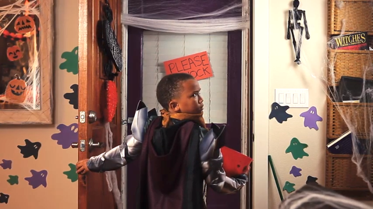 Reverse Trick or Treating Film