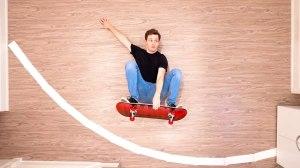 Stop Motion Skateboard