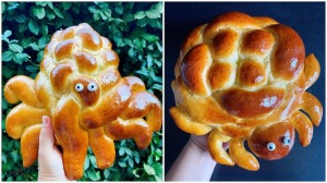 Adorable Animals Made From Braided Bread