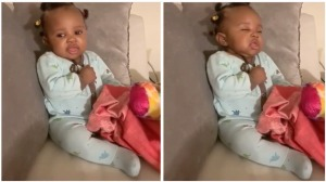 Baby Girl Tries to Stay Awake Narration