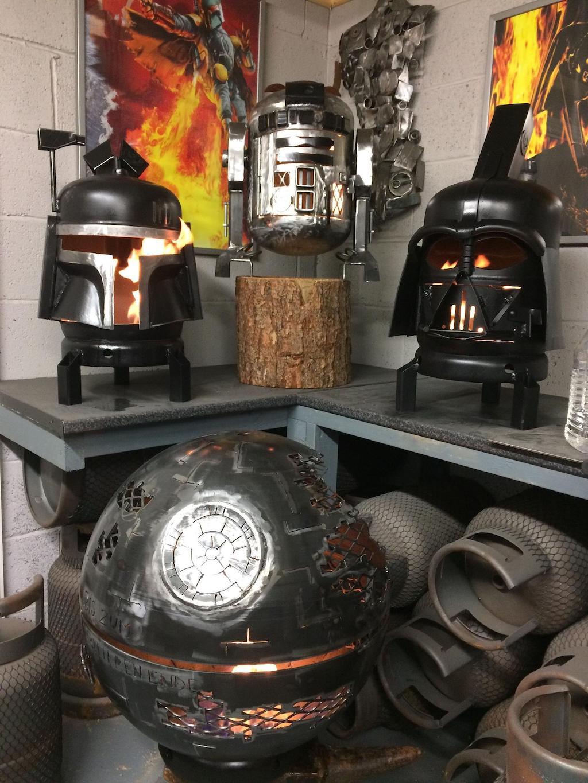 Boba Fett Wood Burner Collection