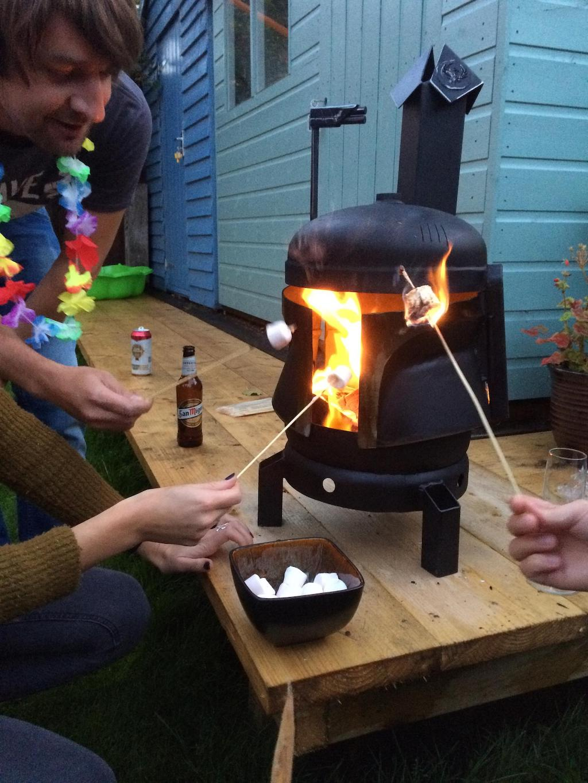 Boba Fett Wood Burner Marshmallows