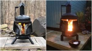 Boba Fett Wood Burning Stove