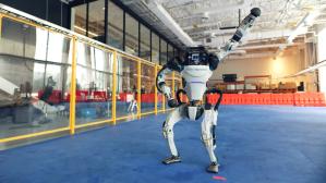 Boston Robotics Robot Dancing