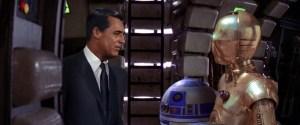 Cary Grant on Millennium Falcon