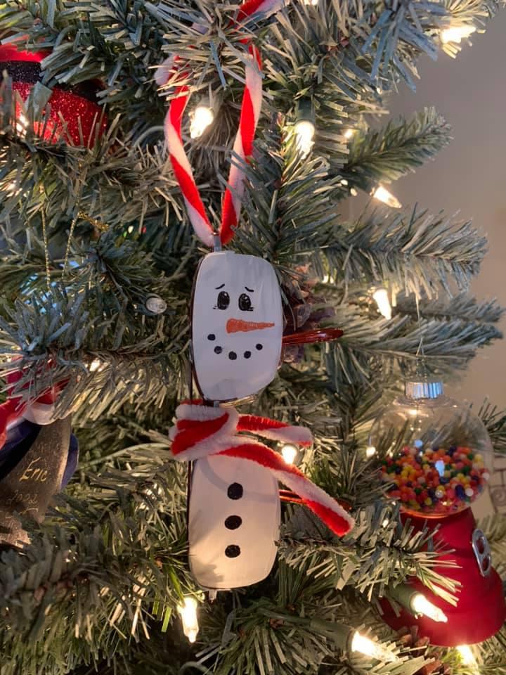Christmas Tree Ornament Eyeglasses