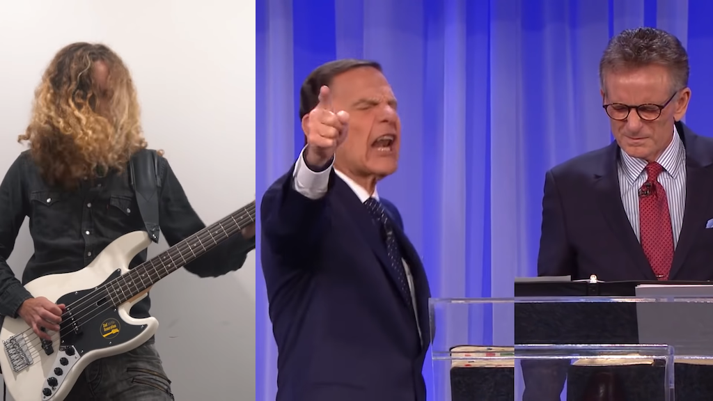 Portuguese Guitarist Hilariously Turns US Television Evangelist's COVID-19 Rant Into a Heavy Metal Song