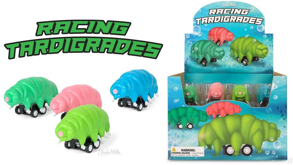 Racing Tardigrades Archie McPhee