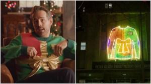 Ryan Reynolds Ugly Not Ugly Xmas Sweater Hospital