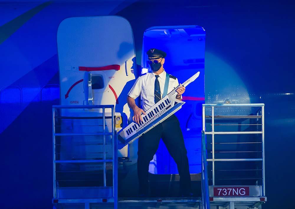 Safety Dance Alaska Air Pilot