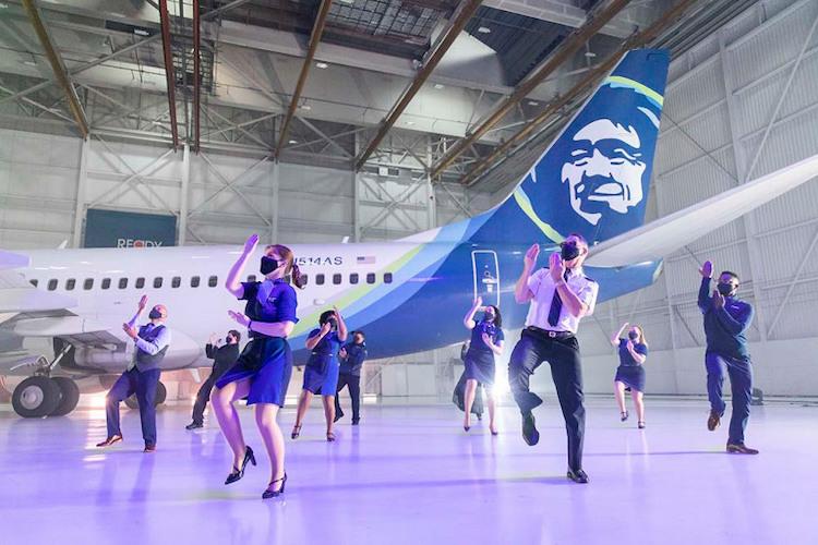 Safety Dance Alaska Air