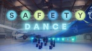Safety Dance Alaska Airlines