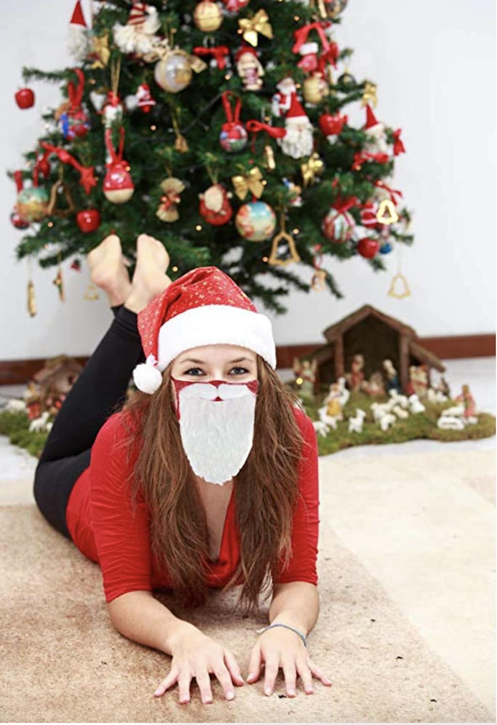 Santa Beard Mask Tree