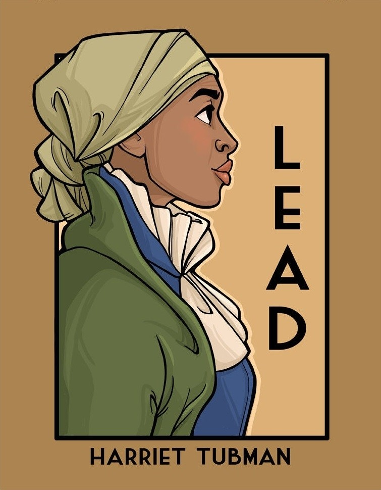 She Posters Harriet Tubman Lead