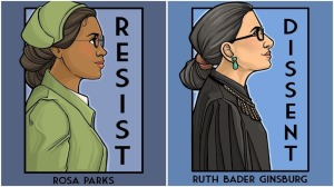 She Series Rosa Parks RBG