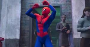 Spider-Man Dancing