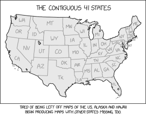 The Contiguous 41 States