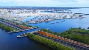Wondrous Veluwemeer Aqueduct Water Bridge