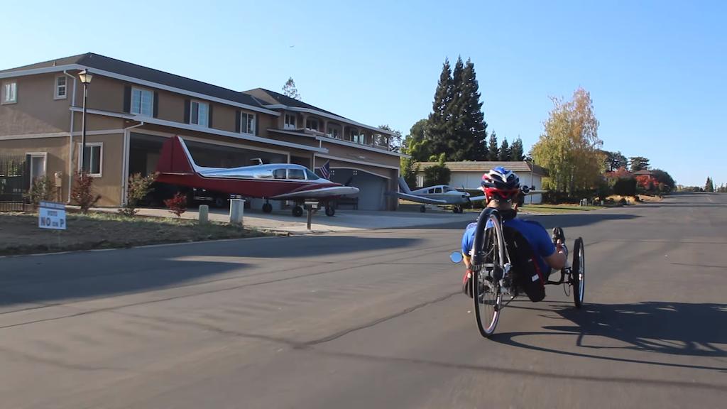A Recumbent Trike Tour of Cameron Airpark Estates