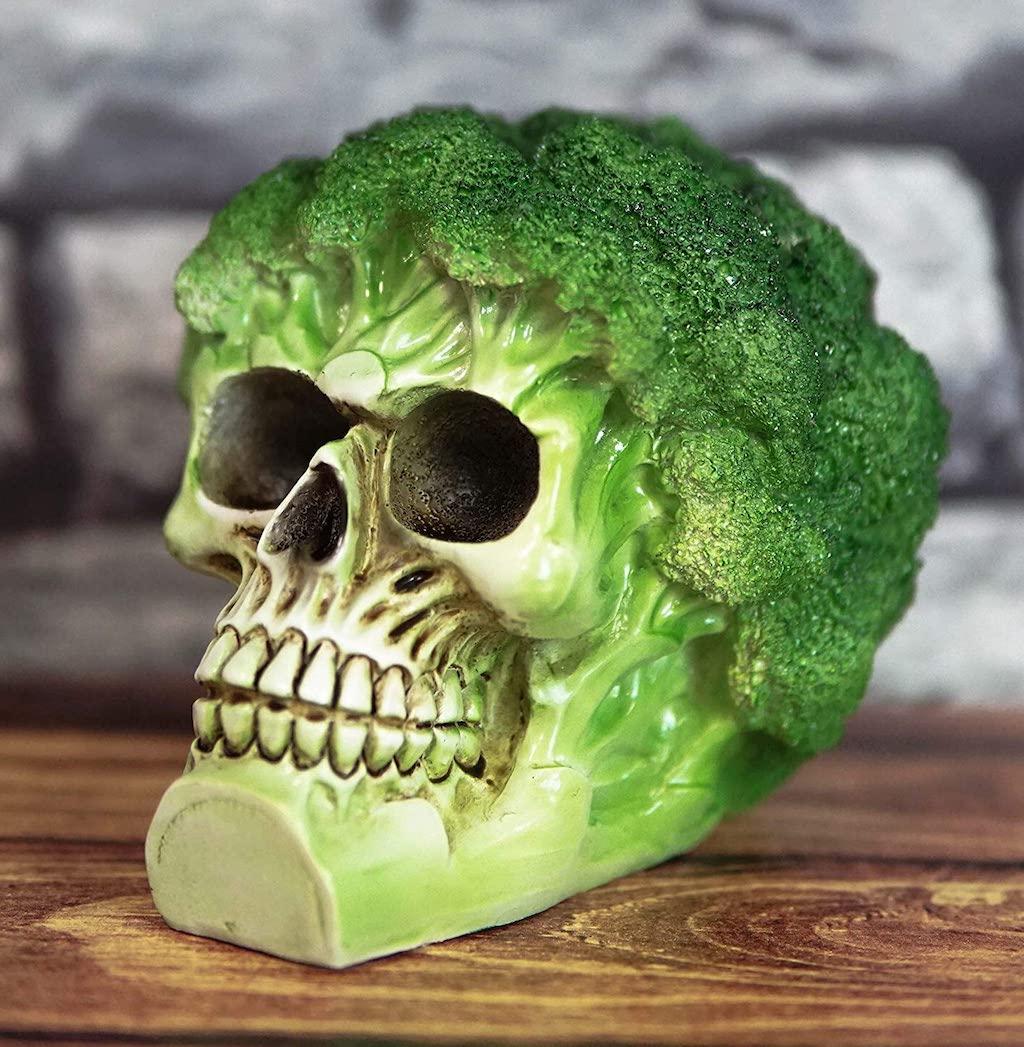 Broccoli Skull