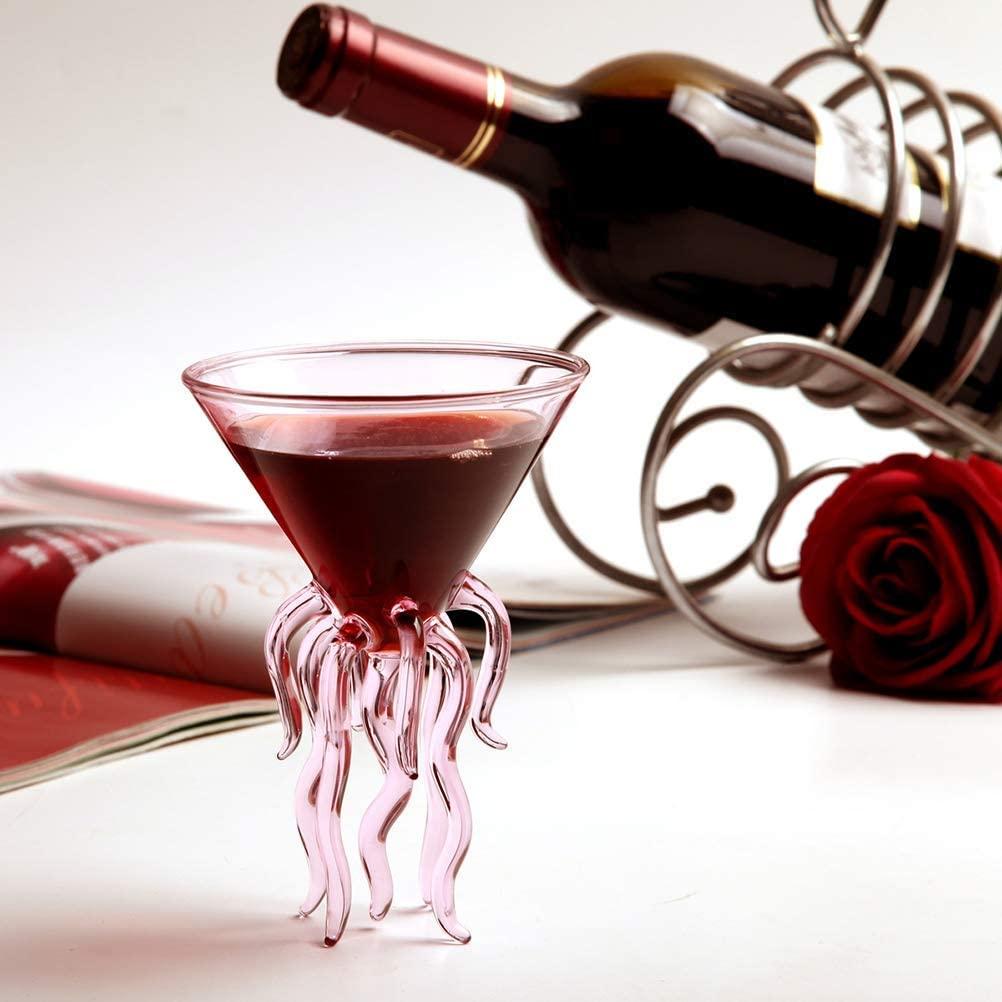 Jellyfish Glasses Wine