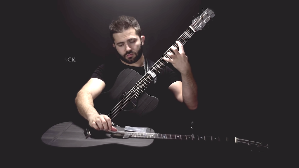 Metallica Fade to Black on 2 Acoustic Guitars