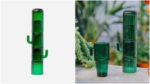 Stackable Cactus Long Glasses