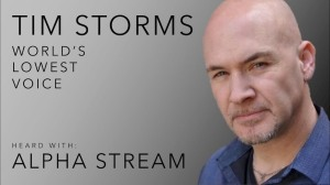 Tim Storms Lonesome Road Lowest Voice