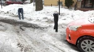 Frozen Jeans Parking Spots