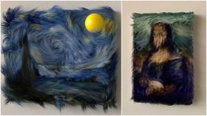 Furry Works of Art