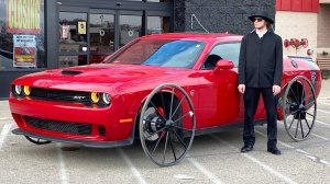 Hellcat With Buggy Wheels