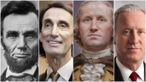 Lincoln Washington Modern Presidents