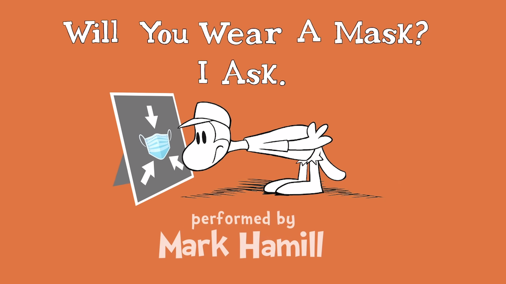 Mark Hamill Plays Opposing Characters Discussing the Need to Wear a Mask in a Dr. Seuss Style Rhyme
