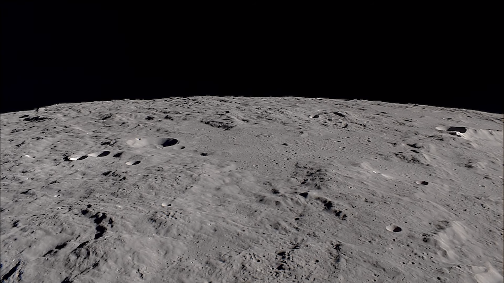Moon in Real Time Orbit