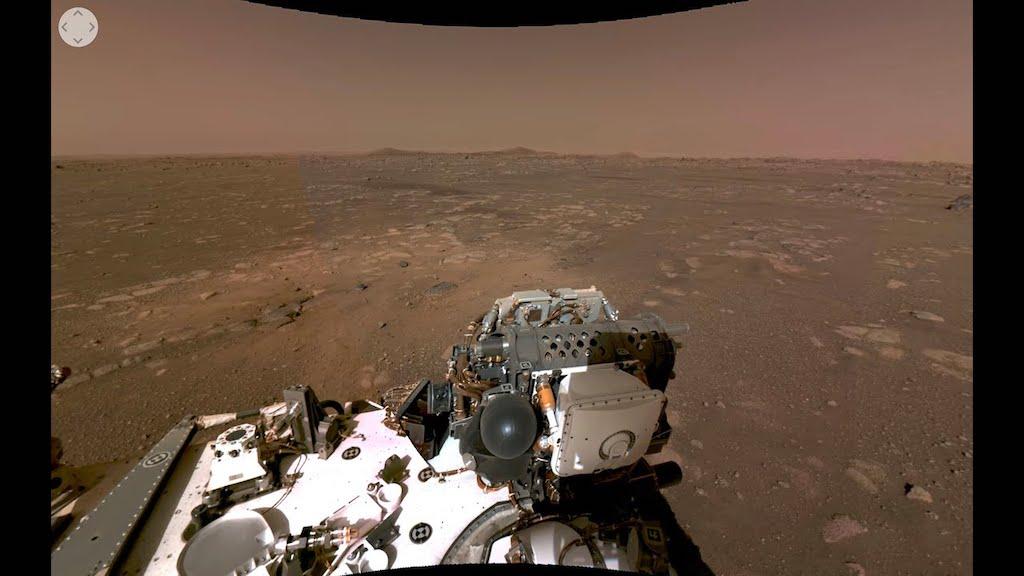 NASA Perseverance Rover 360 Video