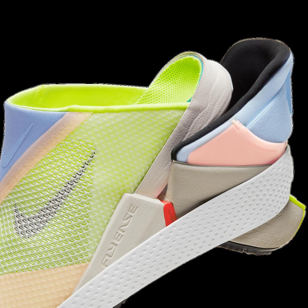 Nike Go FlyEase Shoes Heel Side