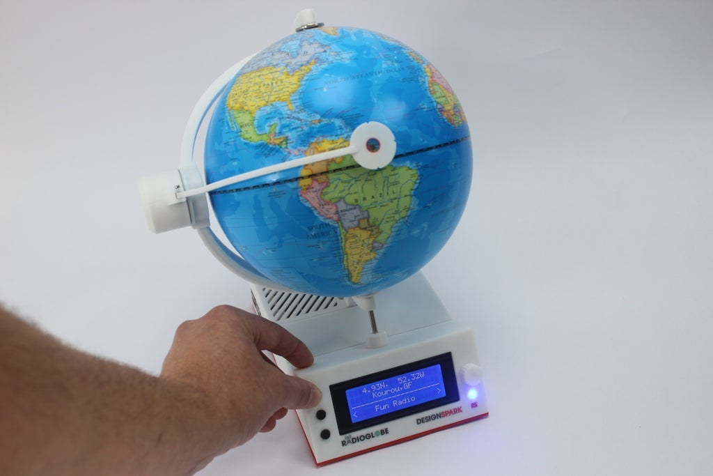 RadioGlobe Tilt