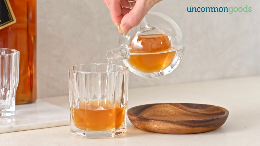 Uncommon Goods Whiskey Water Decanter