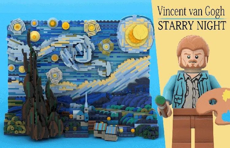 Vincent van Gogh Starry Night Set